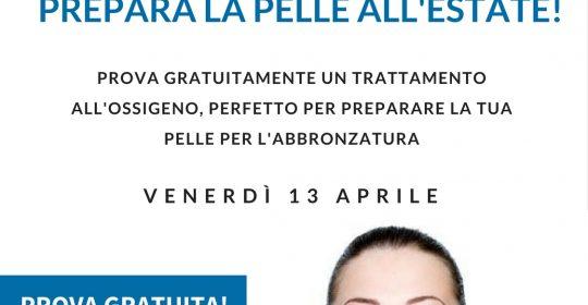 venerdi' 13 aprile: GIORNATA OXYPRO AGE